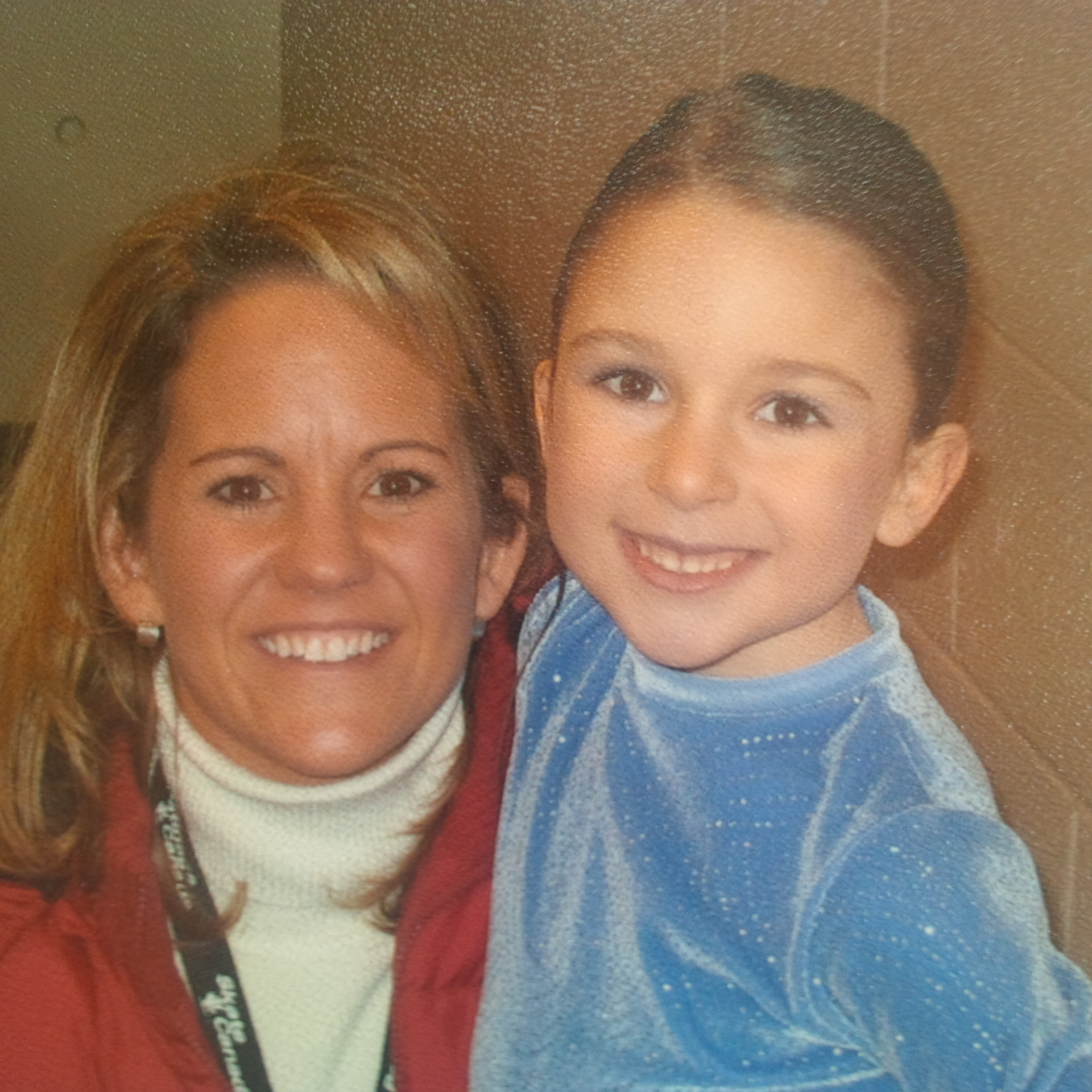 Can you guess who this is with Coach Kathy?